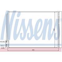 Kondensator, Klimaanlage | NISSENS (940110)