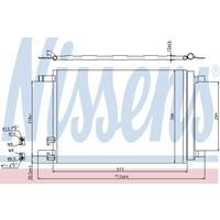Kondensator, Klimaanlage | NISSENS (940319)