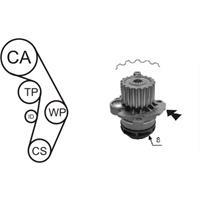 Wasserpumpe + Zahnriemensatz | AIRTEX (WPK-199801)