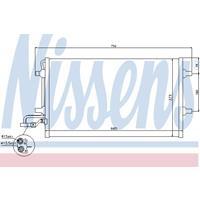 Kondensator, Klimaanlage | NISSENS (940154)