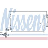 NISSENS Klimakondensator 940086 Kondensator,Klimakühler VOLVO,V50 MW,C30,S40 II MS,C70 II Cabriolet