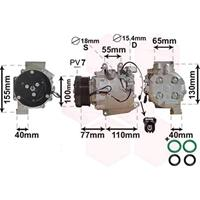 Compressor, airconditioning Super Deals, 1-polig
