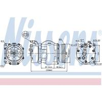 Volkswagen Compressor, airconditioning