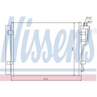 Kondensator, Klimaanlage | NISSENS (940007)