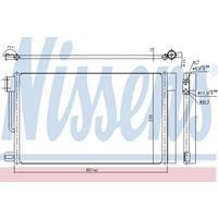 Kondensator, Klimaanlage | NISSENS (94973)