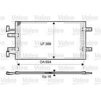 Kondensator, Klimaanlage | Valeo (814171)