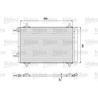Kondensator, Klimaanlage | Valeo (818171)