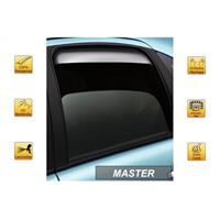 Zijwindschermen voor Master (achter) Toyota Auris 5 deurs 2007-