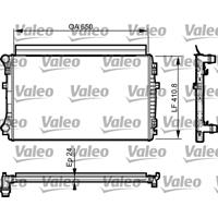 Kühler, Motorkühlung   Valeo (735558)