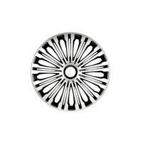 Set 15 inch Volante zilver/zwart PETEX