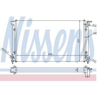 Kühler, Motorkühlung | NISSENS (651511)
