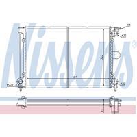 Kühler, Motorkühlung   NISSENS (65195)