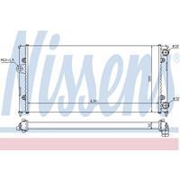 Kühler, Motorkühlung   NISSENS (651931)