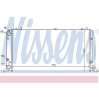 Kühler, Motorkühlung   NISSENS (604361)