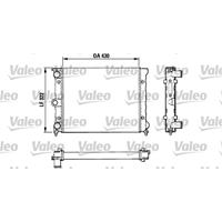 Kühler, Motorkühlung   VALEO (883819)