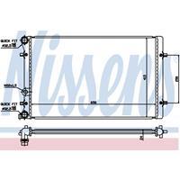 Kühler, Motorkühlung | NISSENS (652011)