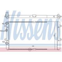 Kühler, Motorkühlung   NISSENS (67301)