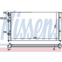 Kühler, Motorkühlung   NISSENS (652451)