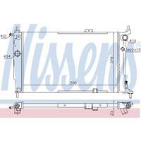 Kühler, Motorkühlung   NISSENS (63252A)