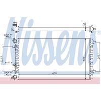 Kühler, Motorkühlung   NISSENS (65228)