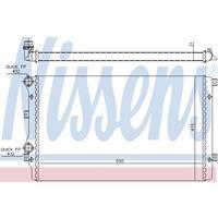 Kühler, Motorkühlung | NISSENS (65280A)