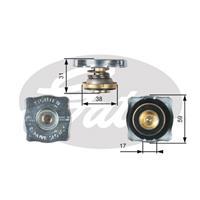 Verschlussdeckel, Kühler | GATES (RC130)
