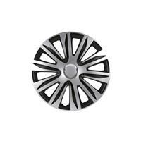Set 14 inch Nardo zilver/zwart PETEX