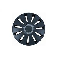 Set 14 inch Silverstone zwart PETEX