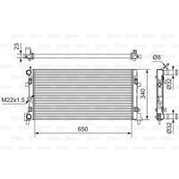 Kühler, Motorkühlung | Valeo (701522)