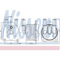 Kühler, Motorkühlung   NISSENS (63558)