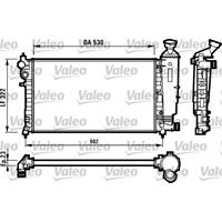 Valeo Wasserkühler 731526 Kühler,Motorkühler PEUGEOT,CITROËN,106 II 1,PARTNER Combispace 5F,106 I 1A, 1C,PARTNER Kasten 5,SAXO S0, S1