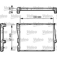 Kühler, Motorkühlung | Valeo (734276)