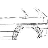 ford PLAATWERKDEEL A 89-95 WIELSCHERMRAND 2-deurs