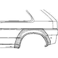 Volkswagen PLAATWERKDEEL Wielrand AchterLINKS 2-deurs
