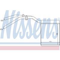 Wärmetauscher, Innenraumheizung | NISSENS (71770)