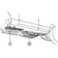 mercedes-benz Plaatwerkdeel Edes 123 76-.vloerp Rechts Voor