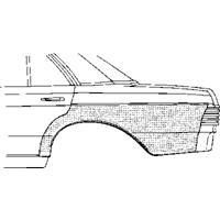 mercedes-benz Plaatwerkdeel Rc.123 76-.wielschermrand