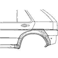 Volkswagen PLAATWERKDEEL WIELSCHERMR ACHTER 4-deurs