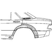 mercedes-benz Plaatwerkdeel .190 W201 83-.wielschrechts A.