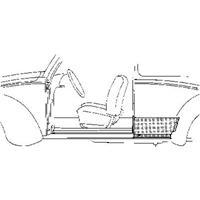 Volkswagen Oversizedeel Vw Kever Paneelplaat 2d
