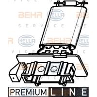 Widerstand, Innenraumgebläse 'PREMIUM LINE' | MAHLE (ABR 98 000P)