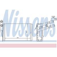 Wärmetauscher, Innenraumheizung | NISSENS (70224)