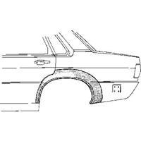 Audi Plaatwerkdeel 78-88 Wielschrand Achter4