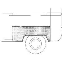 Volkswagen Oversizedeel Ans/prit 68-79 Wlschrmr A