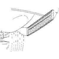 mercedes-benz Oversizedeel 114/5 68-75 Arschrmplaat