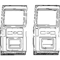 mercedes-benz Plaatwerkdeel C.l207d 77-.onderk.laadd.