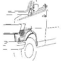 mercedes-benz Plaatwerkdeel Cedes L207d407d.wlschermr