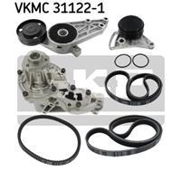 Wasserpumpe + Keilrippenriemensatz | SKF (VKMC 31122-1)