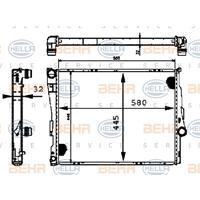 Kühler, Motorkühlung | MAHLE (CR 455 000S)