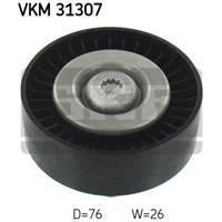 SKF Umlenkrolle VKM 31307 Führungsrolle,Umlenk-/Führungsrolle, Keilrippenriemen VW,AUDI,TOUAREG 7P5,A4 Avant 8K5, B8,A4 8K2, B8,Q5 8R